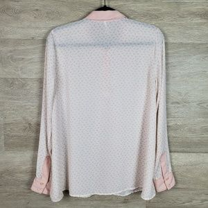 Free People Tops - Free People Horse Print Blouse Size M